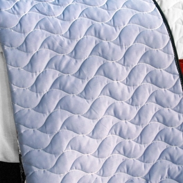 [Pretty Raisin] 3PC Vermicelli - Quilted Patchwork Quilt Set (Full/Queen Size)
