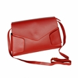 [Retro Wine-colored] Classic Double Handle Leatherette Handbag Shoulder Bag Satchel Bag Purse