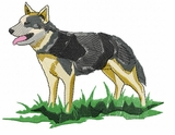 acd011 American Cattle Dog (small or large design)