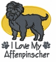affen002 Affenpinscher (small or large design)