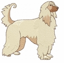 afghan001 Afghan Hound (small or large design)
