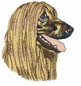 afghan004 Afghan Hound (small or large design)