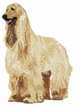 afghan006 Afghan Hound (small or large design)