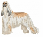 afghan007 Afghan Hound (small or large design)