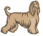 afghan014 Afghan Hound (small or large design)