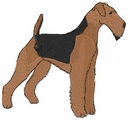 airedale010 Airedale (small or large design)