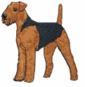 airedale017 Airedale (small or large design)