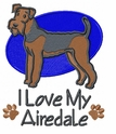 airedale023 Airedale (small or large design)