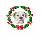 ambulldog1wreath Bulldog (small or large design)