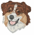 aussie011 Australian Shepherd (small or large design)