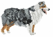 aussie028 Australian Shepherd (small or large design)