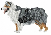 aussie029 Australian Shepherd (small or large design)