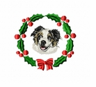 aussie2wreath Australian Shepherd (small or large design)