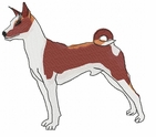 basenji003 Basenji (small or large design)