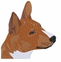 basenji009 Basenji (small or large design)