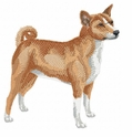 basenji010 Basenji (small or large design)