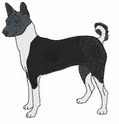 basenji012 Basenji (small or large design)