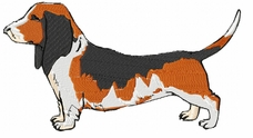 basset001 Basset Hound (small or large design)