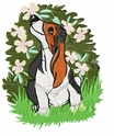 basset003 Basset Hound (small or large design)