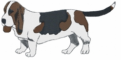basset007 Basset Hound (small or large design)