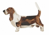 basset010 Basset Hound (small or large design)