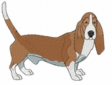 basset013 Basset Hound (small or large design)