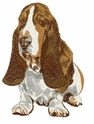 basset021 Basset Hound (small or large design)