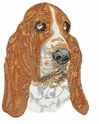 basset023 Basset Hound (small or large design)