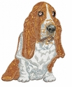 basset024 Basset Hound (small or large design)