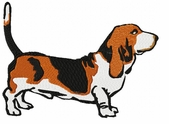 basset025 Basset Hound (small or large design)