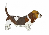 basset027 Basset Hound (small or large design)
