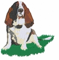 basset032 Basset Hound (small or large design)