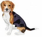 beagle016 Beagle (small or large design)