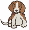 beagle026 Beagle (small or large design)