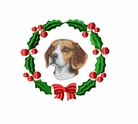 beagle1wreath Beagle (small or large design)