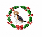 beagle2wreath Beagle (small or large design)