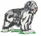 bearded006 Bearded Collie (small or large design)