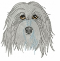 bearded010 Bearded Collie (small or large design)
