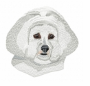 bichon002 Bichon Frise (small or large design)
