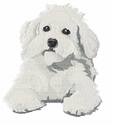 bichon005 Bichon Frise (small or large design)