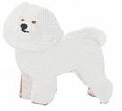 bichon009 Bichon Frise (small or large design)