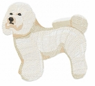 bichon012 Bichon Frise (small or large design)