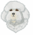 bichon017 Bichon Frise (small or large design)