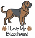 blood017 Bloodhound (small or large design)
