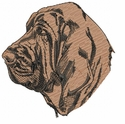 blood019 Bloodhound (small or large design)