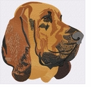 bloodhound020 Bloodhound (small or large design)