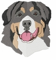 bmd007 Bernese Mountain Dog (small or large design)