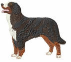 bmd015 Bernese Mountain Dog (small or large design)