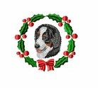bmd3wreath Bernese Mountain Dog (small or large design)