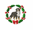 bmd6wreath Bernese Mountain Dog (small or large design)